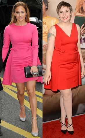 Jennifer Lopez, Lena Dunham
