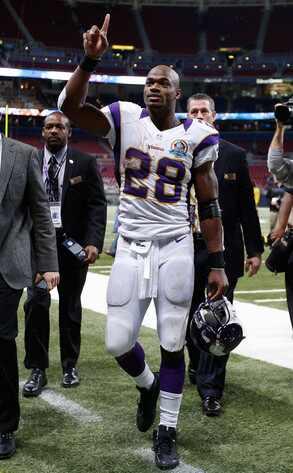 Adrian Peterson #28 Minnesota Vikings