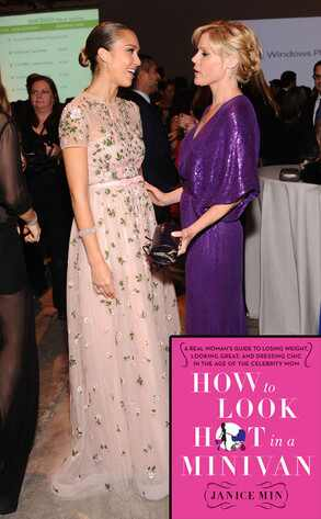 Jessica Alba, Julie Bowen, How to Look Hot in a Minivan cover, Janice Min