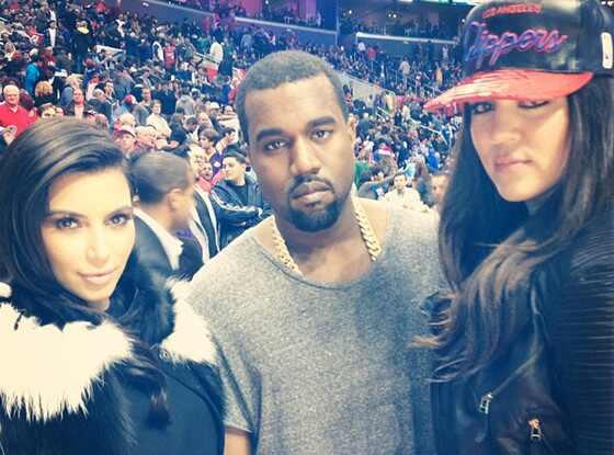 Kim Kardashian, Kanye West, Khloe Kardashian Odom, Instagram