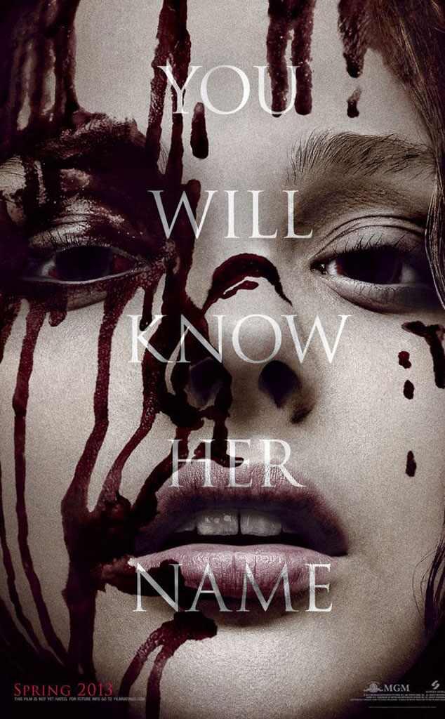 Chloe Moretz, Carrie Poster