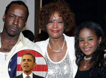 WHITNEY Houston's daughter gets President's prayers
