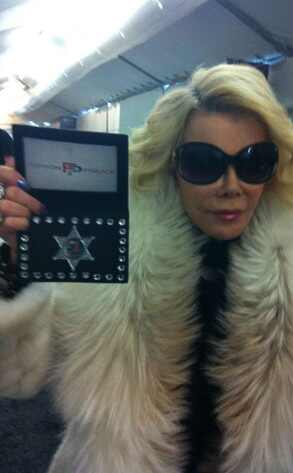 Joan Rivers, Twitter