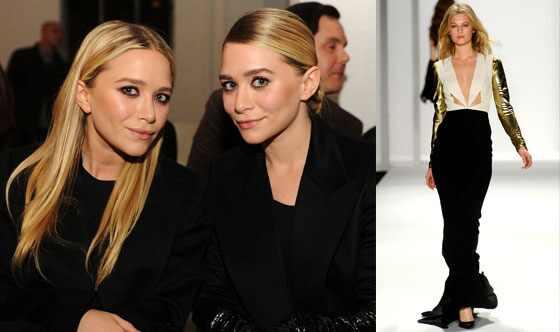 Mary Kate Olsen, Ashley Olsen, J. Mendel Model