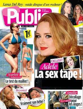 Adele, Public Public. Ooh la la? More like uh-oh.