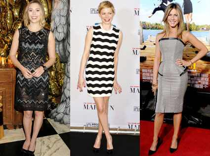 Elizabeth Olsen, Michelle Williams, Jennifer Aniston