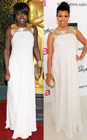 Viola Davis, Kourtney Kardashian