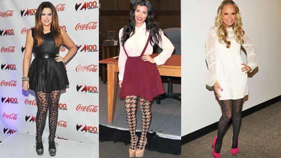 Khloe Kardashian, Kourtney Kardashian, Kristin Chenoweth