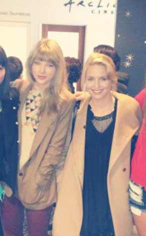 dianna agron taylor swift dating Taylor swift and dianna agron go all out to celebrate dianna's 26th birthday on saturday (april 28) the blonde beauties and some gal pals.