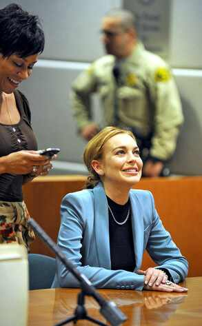 Todos los encuentros no felices de Lindsay Lohan con la ley
