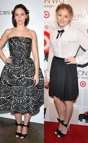 Emily Blunt & Chloe Moretz