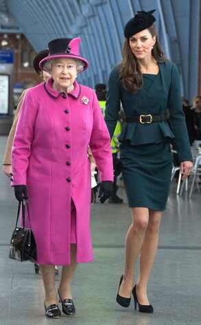 Queen Elizabeth II, Kate Middleton, Catherine, Duchess of Cambridge