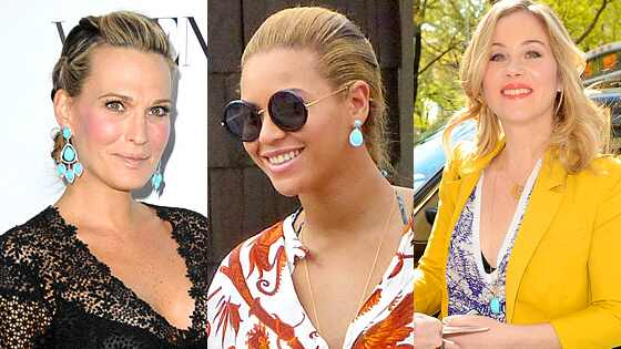 Molly Sims, Beyonce, & Christina Applegate