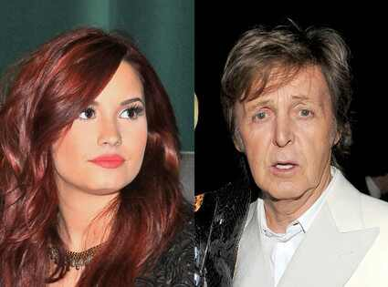 Demi Lovato, Paul McCartney