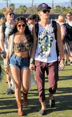 Coachella Festival, Vanessa Hudgens, Austin Butler