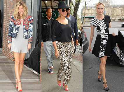 Brooklyn Decker, Beyonce, Diane Kruger