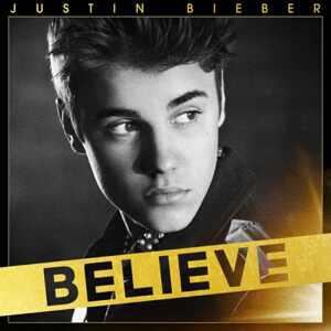 Justin Bieber, Believe cover