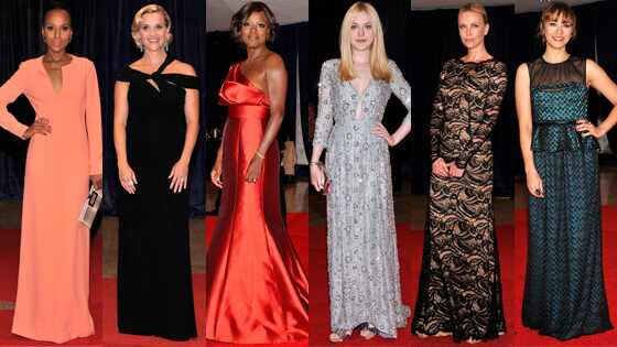 Kerry Washington, Reese Witherspoon, Viola Davis, Dakota Fanning, Charlize Theron, Rashida Jones
