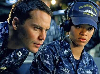 Taylor Kitsch, Rihanna, Battleship