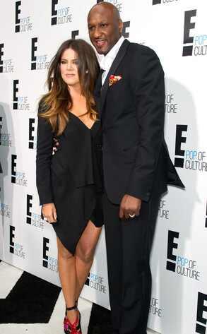 E! Upfront, Khloe Kardashian Odom and Lamar Odom
