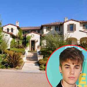 Justin Bieber Home on Justin Bieber  Calabasas Home
