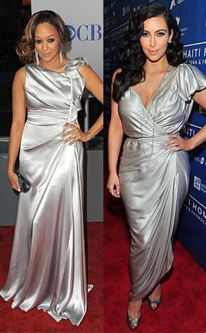 Tia Mowry, Kim Kardashian
