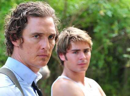 The Paperboy, Matthew McConaughey, Zac Efron