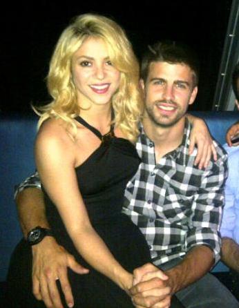 Shakira, Piqué