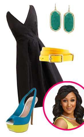 Tamera Styles the Little Black Dress
