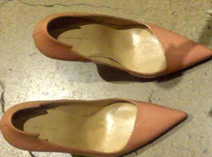 Balenciaga Blush Heels