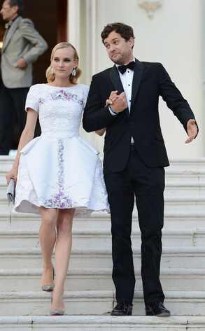 Joshua Jackson, Diane Kruger, Cannes Film Festival