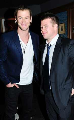 Chris Hemsworth, Luke Hemsworth