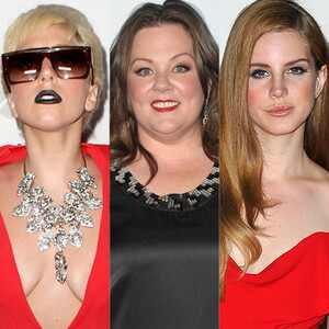 Lady Gaga, Melissa McCarthy, Lana Del Rey