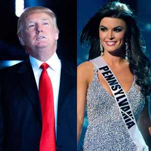 Donald Trump, Sheena Monnin Miss Pennsylvania