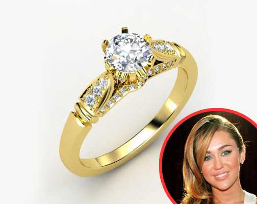 Gemvara ring, Miley Cyrus