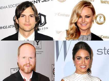 Ashton Kutcher, Malin Akerman, Joss Whedon and Nikki Reed