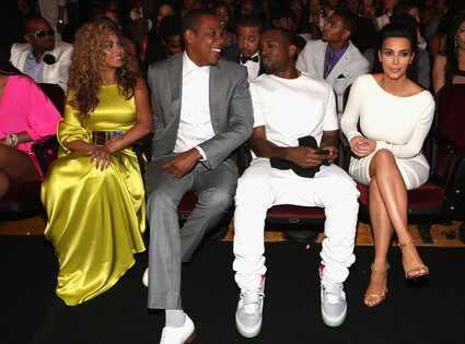 BET Awards, Beyonce, Jay-Z, Kim Kardashian, Kanye West