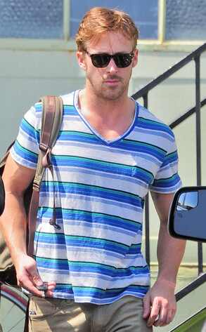 Foto do dia: Ryan Gosling hot hot na academia