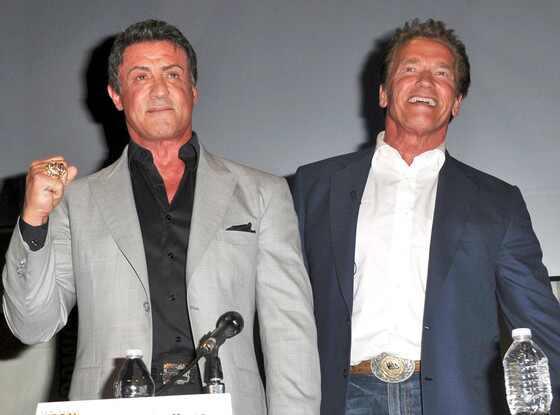 Sylvester Stallone, Arnold Schwarzenegger