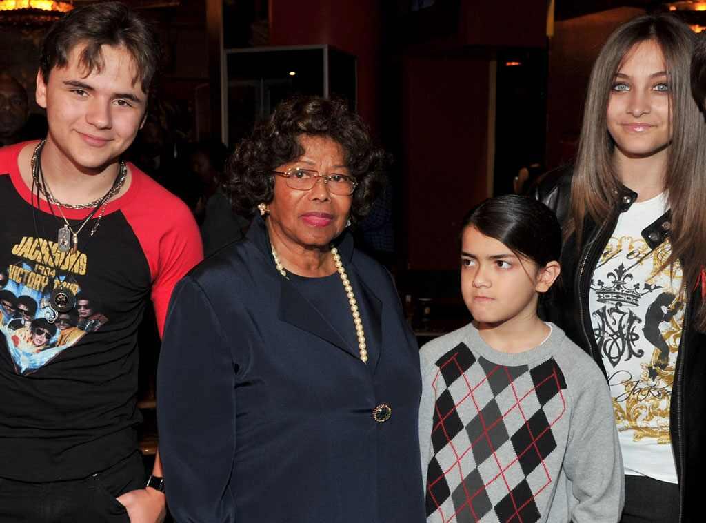 Prince Michael Jackson, Katherine Jackson, Blanket Jackson, Paris Jackson
