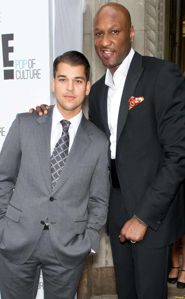Rob Kardashian confronta Lamar Odom após rumores de traição