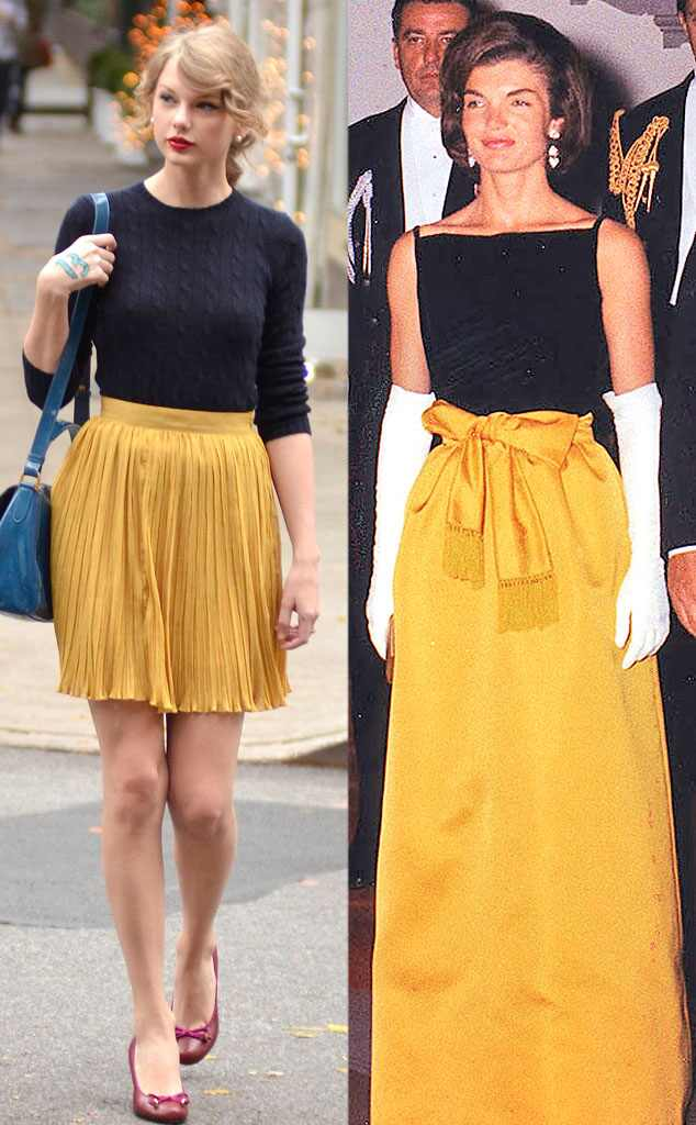 Jackie Kennedy Fashion: The Bee's Knees From Taylor Swift's Jackie O Fashions