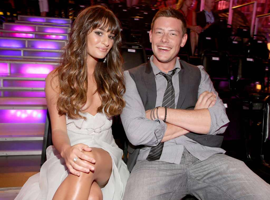 How lea michele continues to honor cory monteith 39 s legacy for Cory james tattoo