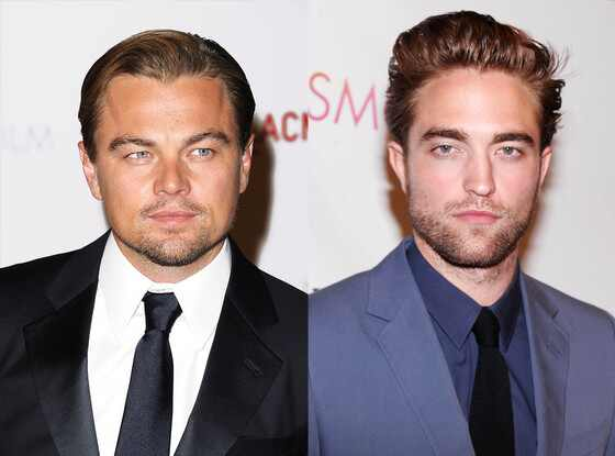 Leonardo DiCaprio, Robert Pattinson