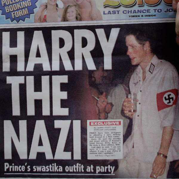 Prince Harry Naked Photos and Nazis? Check Out the Royal Rogues Five Biggest Scandals