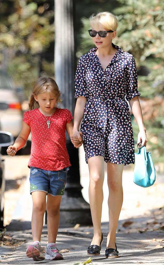 Michelle Williams Takes Daughter Matilda to Dawson's Creek ...
