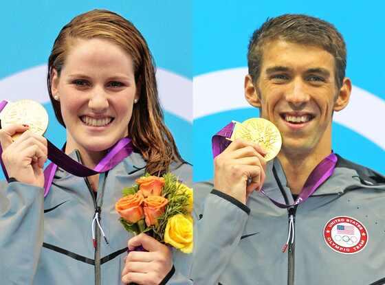 Missy Franklin, Michael Phelps