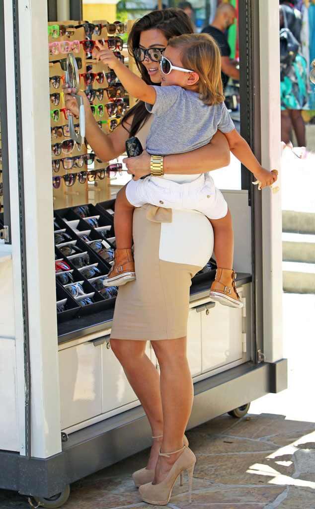 Kim Kardashian, Mason Disick