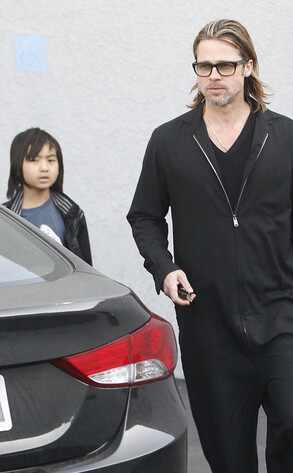Brad Pitt, Maddox