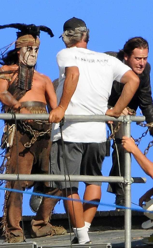 Johnny Depp y Armie Hammer desafiarán a la muerte en El Llanero Solitario